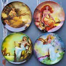 The Four Ancient Elements Earth Air Fire Water Collector Plates Set Of 4 Knowles