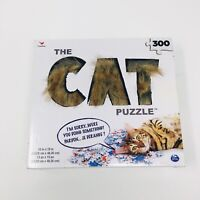 "The Cat Puzzle 300 Pieces 13""x19"" Cardinal Kitty Kitten NEW sealed."