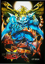 (50)Yugioh Deck Protectors Arcv 3 Gods Card Sleeves 50 Pieces size 63x90mm