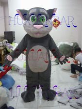 Lovely Talking Tom Cat Mascot Costume Animal Cartoon Costume Party Fancy Dress A