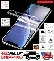 For Apple iPhone 11 / 11 PRO MAX Full Cover HYDROGEL Film Soft Screen Protector