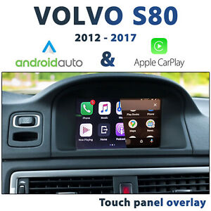 Volvo S80 2012 - 2017 - Touch Overlay Apple CarPlay & Android Auto Integration