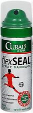 CURAD FLEXSEAL Flex Seal Spray Bandage, 40mL FRESH PHARMACY STOCK! Exp 9/2019+