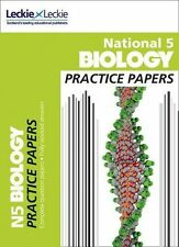 National 5 Biology Practice Exam Papers (Practice Papers for SQA Exams) by...