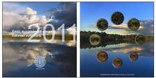 OFFIZ. ESTLAND ESTONIA  EURO KMS KURSMÜNZENSATZ MÜNZEN 2011 BU COINS COINSET