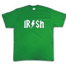 T-shirt Funny Festival Irlandés San Patricio's Day Pub Bar Estilo de Rock Camiseta