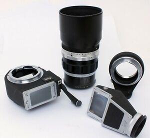 ✮ Leitz Wetzlar Leica-M Visoflex III mit Telyt 200mm f/4 & Oubio //vom Händler !