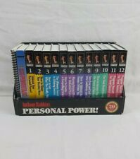 Tony Robbins Personal Power 30 Day Program for Unlimited Success Cassettes