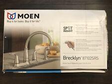 Moen Brecklyn Kitchen Faucet w/Side Sprayer in Spot Resist Stainless #87102SRS