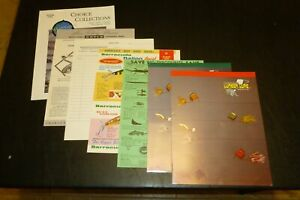 LOT OF VARIOUS CATALOGS AND PRICING SHEETS FROM MISCELLANIOUS MANUFACTURERS