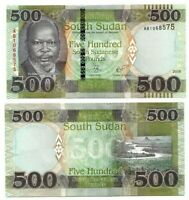 SOUTH SUDAN 500 Pounds (2018) P-16 UNC Banknote Paper Money