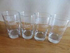 """STEPS How to Taste SAMUEL ADAMS Boston Lager 4.25"""" Beer Shot Glasses (Set of 4)"""