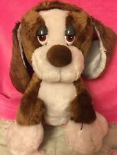"Baxter Stuffed Plush Dog russ Berrie And Co. Inc. 14"" Tall"