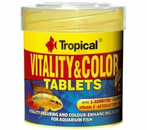 TROPICAL VITALITY & COLOR TABLETS 250ml Adhesive tablets