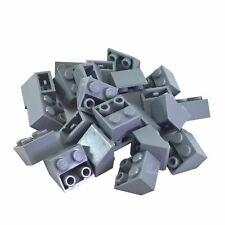 25 NEW LEGO Slope, Inverted 45 2 x 2 Light Bluish Gray