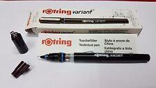 Vintage rOtring Technical Pen (Variant) 0.60 mm - New with key nib Art. 110 060