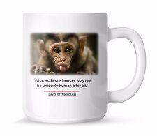 Monkey Planet Earth Printed Mugs Gifts Presents Coffee Tea Secret Santa