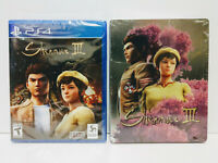 Shenmue III 3 w/ Limited Edition SteelBook! (PlayStation 4) BestBuy Exclusive!