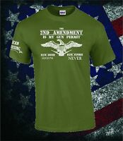 NEW AMERICAN UPRISING INC 2ND AMENDMENT FIREARMS GUNS MOLON LABE MEN'S T-SHIRT
