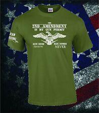 NEW AMERICAN UPRISING INC 2ND AMENDMENT FIREARMS GUNS MOLON LABE MEN'S T-SHIRT