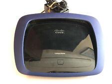 CISCO Linksys E3000 Wireless Router  Blue Bundled w/ Power Adapter