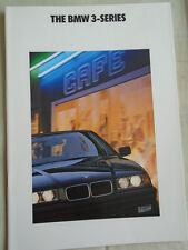 BMW 3 Series range brochure Nov 1991 USA market
