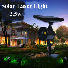 Waterproof Solar Power Laser Lights Projector Outdoor LED Garden Party Christmas