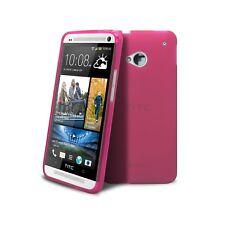 Carcasa para HTC One (M7) Semi Rígido Extra Fina mate/brillante Rosa