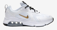 Nike Air Max 200 White/Metallic Gold/Black Men's Shoes AQ2568 102 sz 8-13