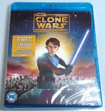 STAR WARS: THE CLONE WARS Brand New BLU-RAY Movie 2008 Film Region-Free Import