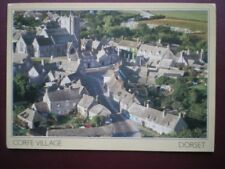 POSTCARD DORSET CORFE VILLAGE FROM EAST HILL