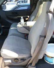 2001 2002 2003 Ford F150 Super Cab Front 40/60 Split Seat Covers Dark Gray Twill