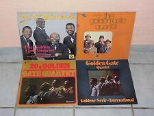 The Golden Gate Quartet  -  4 LP`s