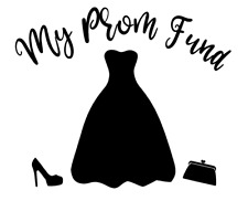 Prom Money Fund Personalised Decal Vinyl Sticker Box Frame Gifts Crafting DIY