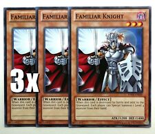 YuGiOh, Yugi's Collector Box, 3X, Familiar Knight, DPKB-EN020, Common, New, Mint