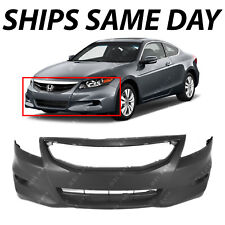 NEW Primered - Front Bumper Fascia Cover for 2011 2012 Honda Accord Coupe 2-door