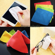 100pcs Lens Glasses Square Cleaning Soft Cloth For Phone Camera CD TV Screen