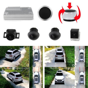Car Truck View Parking Monitor DVR System Panoramic Camera 360 Degree Surround