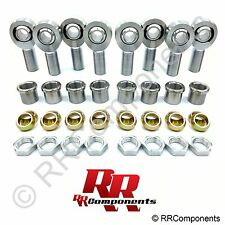 "1-1/4 Chromoly Panhard Rod End,1"" Cone Spacers Heim Joint (Fits 1.5"" ID Tube) BB"