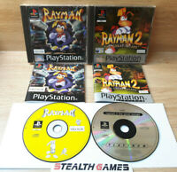 Rayman + Rayman 2: The Great Escape Ps1 PAL Sony Playstation 1 Ubisoft 2000