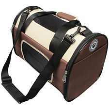 Pet Carrier Premium Travel Carry Bag Accessory Dog Cat Pets Cage Crate Car Small
