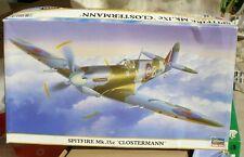 1/48  SPITFIRE Mk IXc de l'as CLOSTERMANN  WW II HASEGAWA