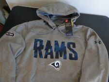 a90e40ddb Los Angeles Rams Football Under Armour Combine Small Hoodie Sweatshirt NFL