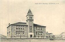 South Dakota, SD, Sturgis, Public School Building 1910's Postcard