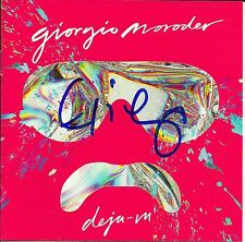 Giorgio Moroder signed Deja Vu cd