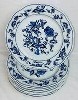 "8 Japan BLUE DANUBE* 8 3/4"" LUNCHEON PLATES *RECTANGULAR  LOGO*"