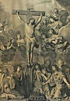 Charles LEBRUN 1619 - 1690 - Jesus am Kreuz
