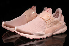 MENS NIKE SOCK DART BR ARCTIC ORANGE SZ 8 BREATHE RUNNING SHOES DS 909551-800