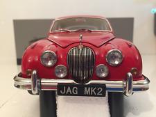 Jaguar Mk II 1962 3.8 Carmen Red RHD Scale 1:18 Paragon 98322
