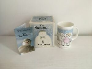 "Royal Doulton Snowman Collection  ""THE PARTY"" Mug. Excellent Condition."